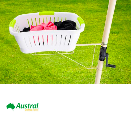 clothesline basket accessory recommendation for eastern suburbs brisbane
