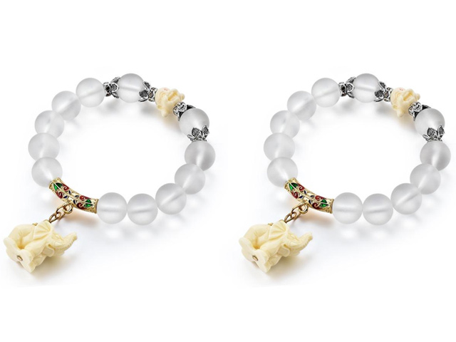Lucky Elephant Beaded Bracelet Bundle Offer
