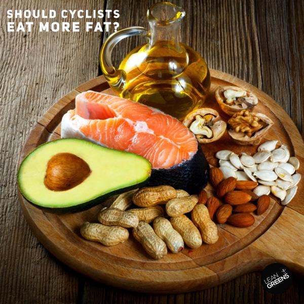 Should cyclists eat more fat?