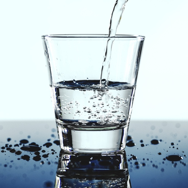 Drink up to 4 litres a day of water for optimal hydration