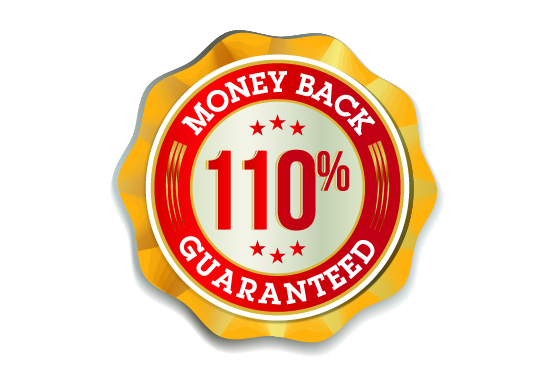 WINPRO 110% Money Back Guarantee