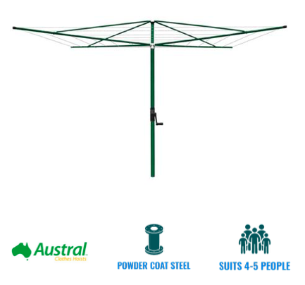Austral Elite 4 clothesline recommendation for southern suburbs brisbane