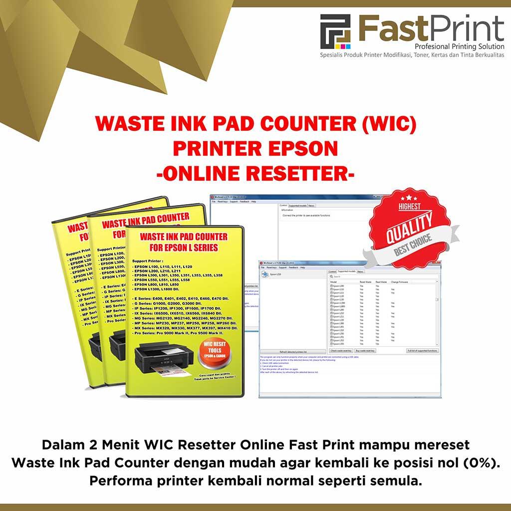 WIC Resetter Online Fast Print