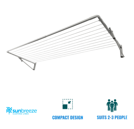 sunbreeze single compact clothesline recommendation for northern suburbs brisbane