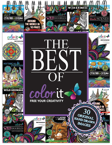 The Best of ColorIt Coloring Book