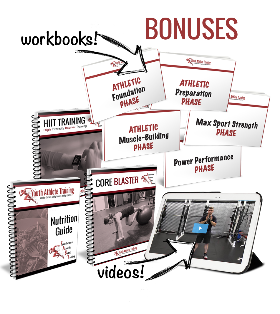 Bonuses for Complete 5-Phase Athlete System
