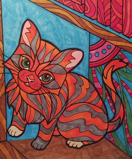 The Best of ColorIt Coloring Book Kitten