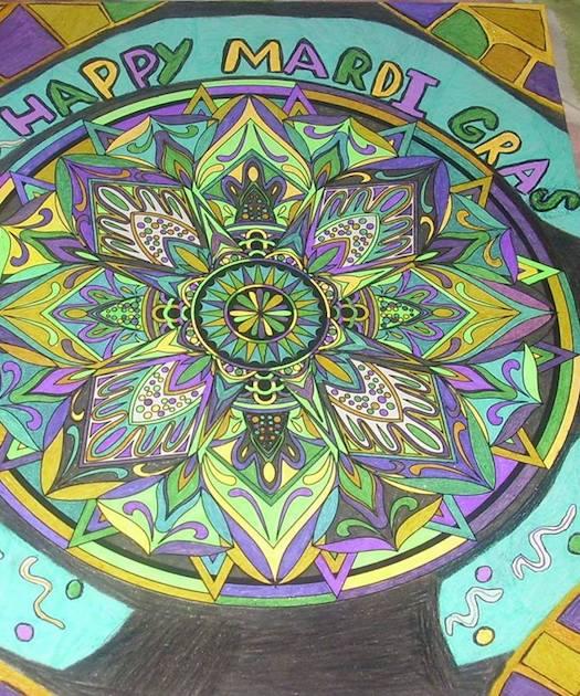 The Best of ColorIt Coloring Book Mandala