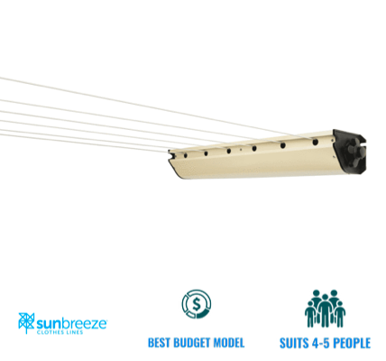 sunbreeze retractable 6 line clothesline recommendation for ipswich qld