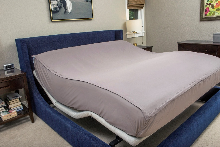 QuickZip -The only adjustable bed sheets designed so they won't pop off