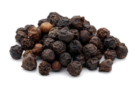Turmeric capsules with black pepper