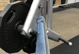 Monster Magnetics SportMag Keep Your Gym Towel Off The Nasty Floor