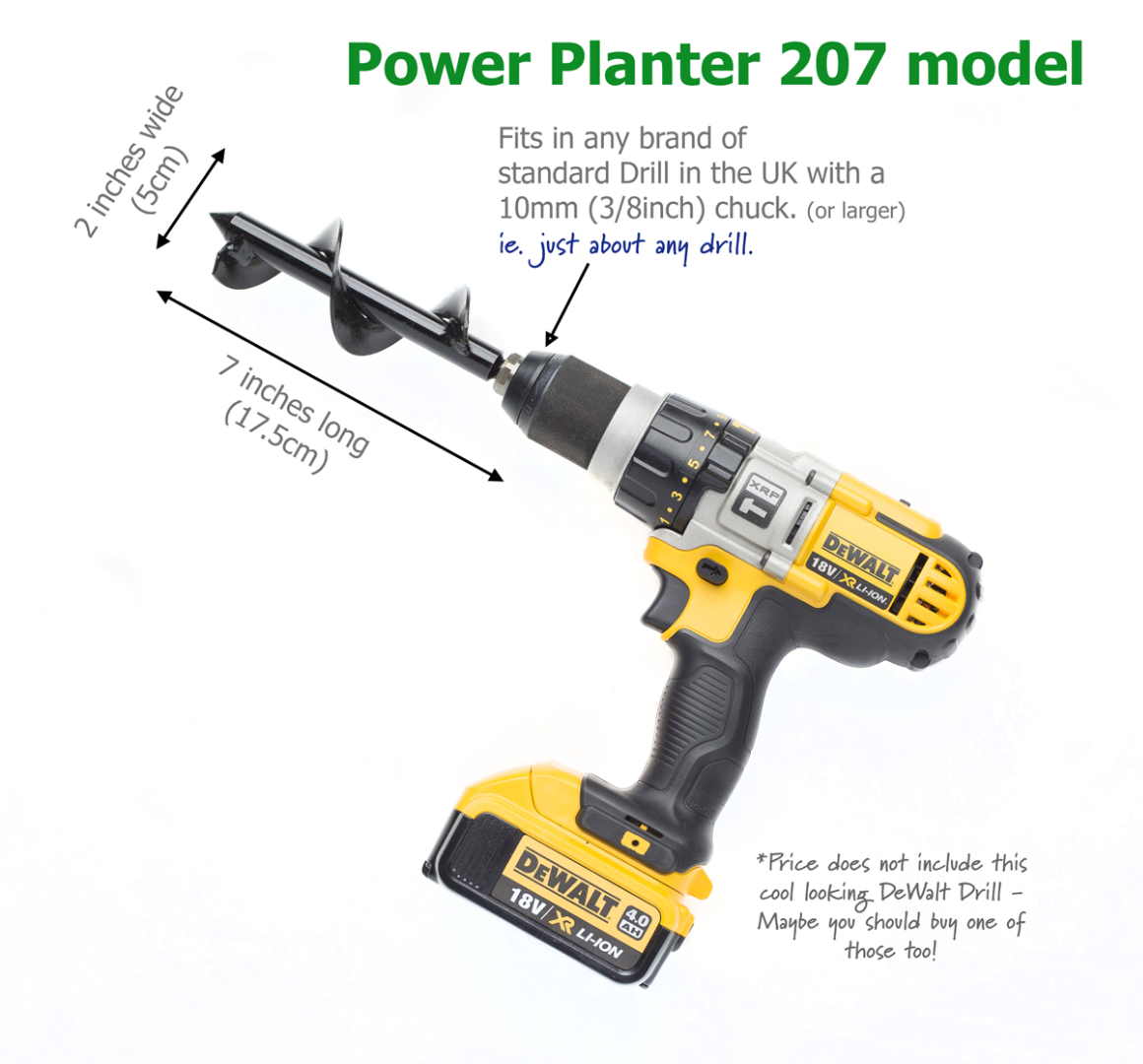 207 Power Planter