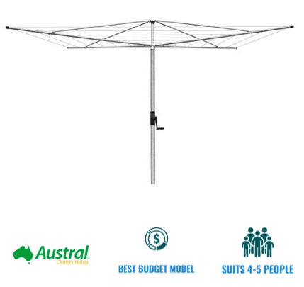 austral deluxe 4 clothesline recommendation for Sunshine Coast QLD
