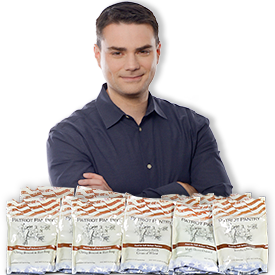 You can depend on My Patriot Supply for food storage for emergencies - Ben Shapiro