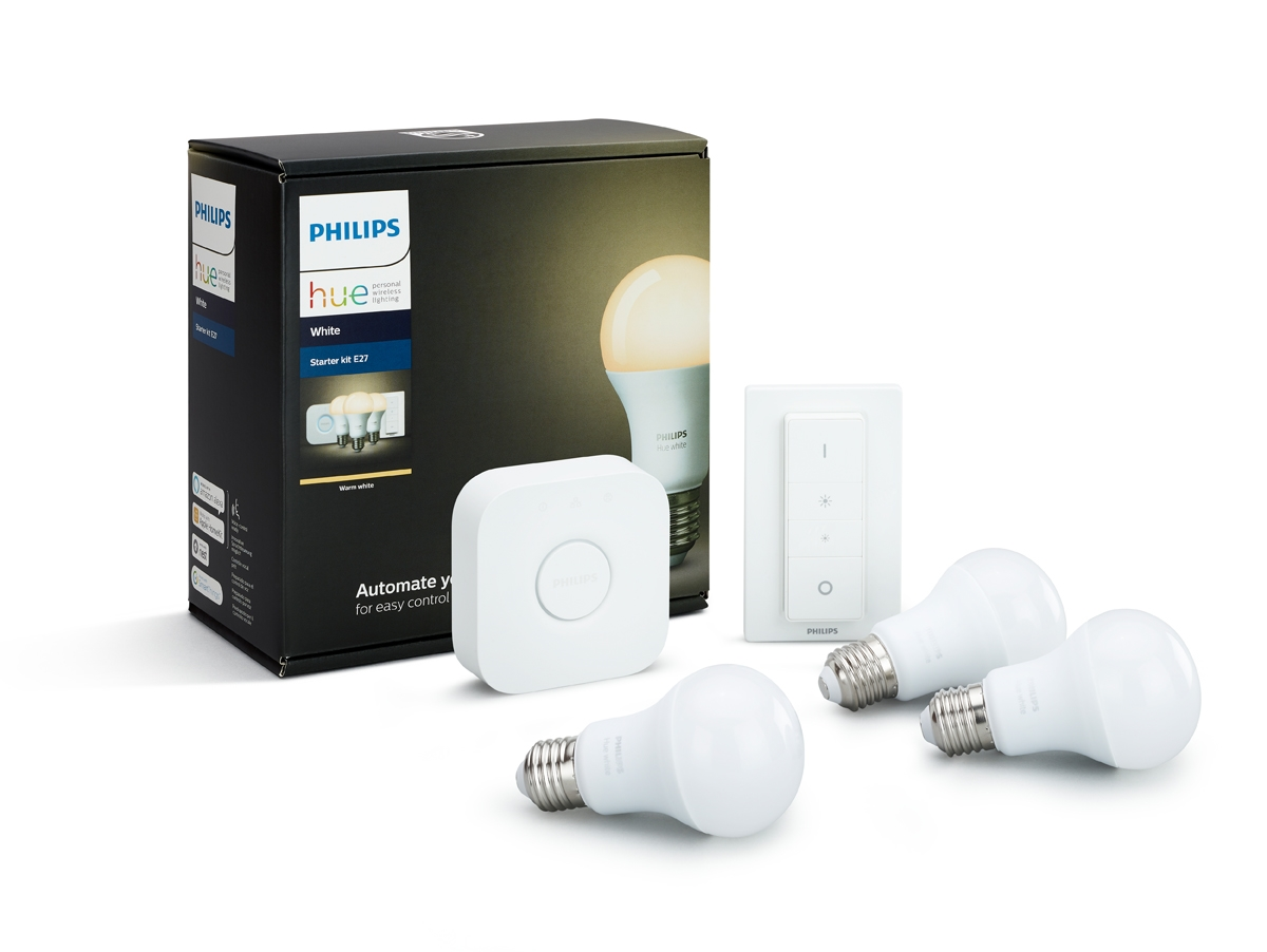 Consider a smart light, such as the Philips Hue