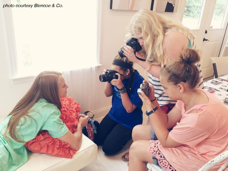 Kids Photo Camp by Blencoe & Co.