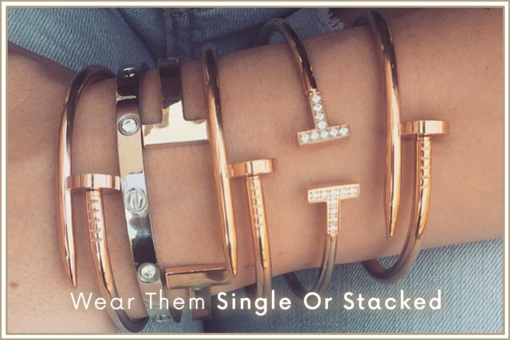 Wear Them Single Or Stacked