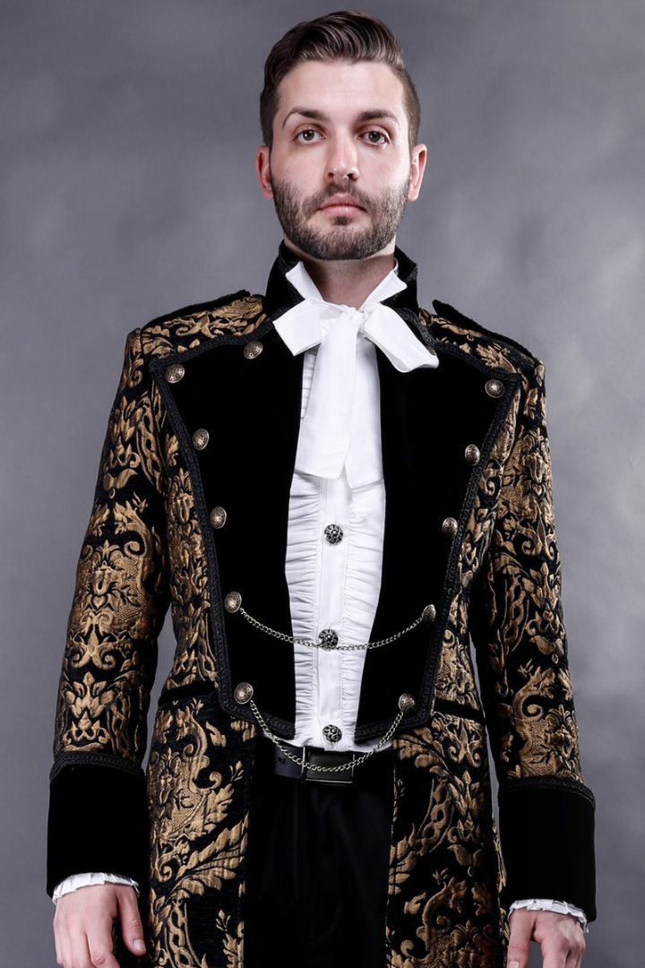 Coat of the Royal Alchemist baroque luxury from Gallery Serpentine