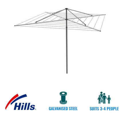 hills heritage 6 high rotary hoist clothesline recommendation for maroochy area sunshine coast