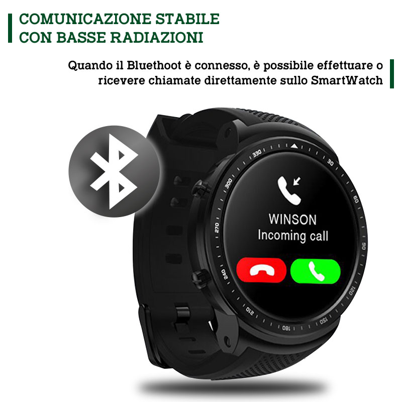 SMART WATCH TATTICO V10 - iOS/ANDROID