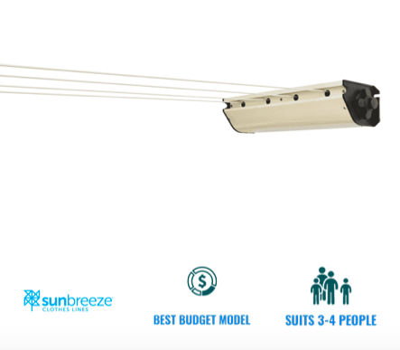 sunbreeze retractable 4 clothesline recommendation for suburbs around queanbeyan act