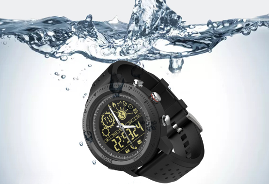 Tactical Watch is waterdicht