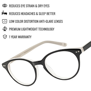 Manila Computer Glasses Benefits Infographic | Umizato