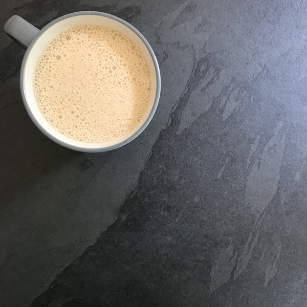 Coffee With Coconut Oil and Butter
