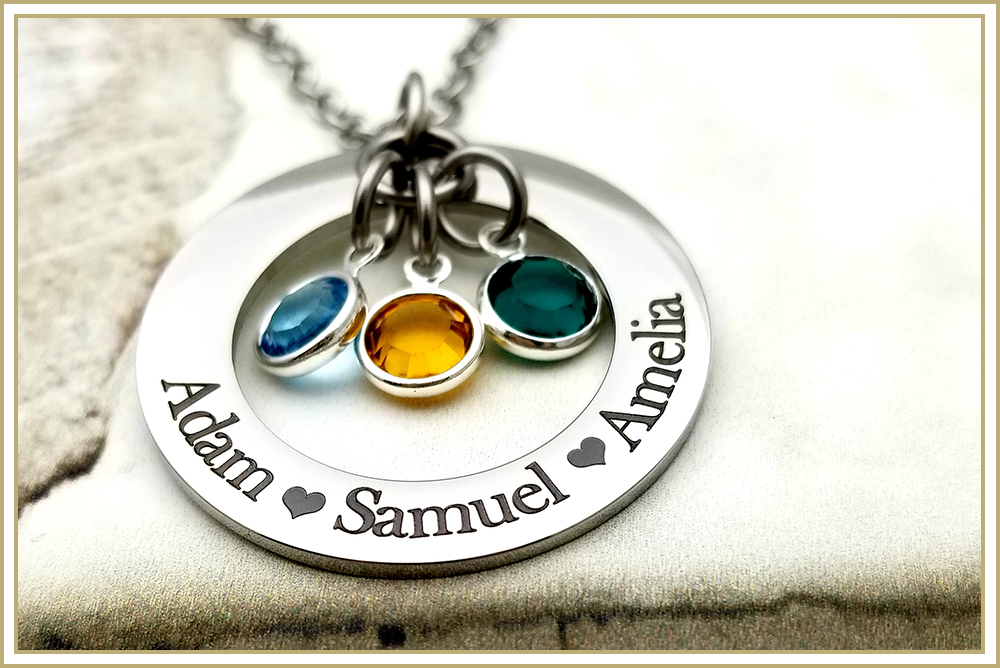 Fully Customizable Initial Charms