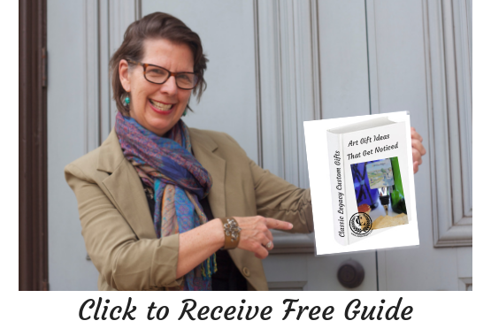 Click to receive FREE Resource of Art Gift Ideas that Stand Out