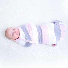 Baby Strickdecke aus Bio Baumwolle kbA GOTS Erstlingsdecke Minky Mooh pucktuch puckdecke.