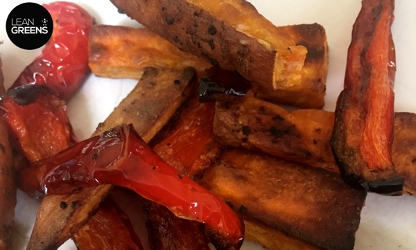 How to make sweet potato fries in the oven