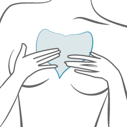 How to use and care for Blumbody Decollette Pad for Chest Wrinkles - Step 2