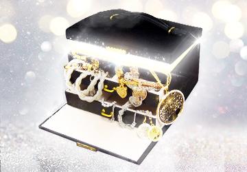 Mirrored Jewelry Box