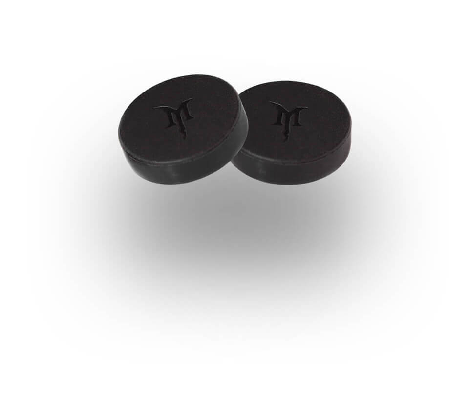 Monster Magnetics MagCap 1-Inch Scratch Proof Rubber Magnet Caps