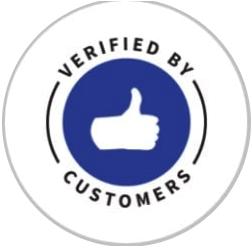 Verified by Customers Badge