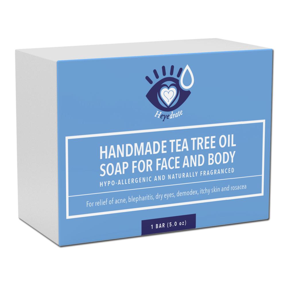 Heyedrate Tea Tree Oil Face Soap