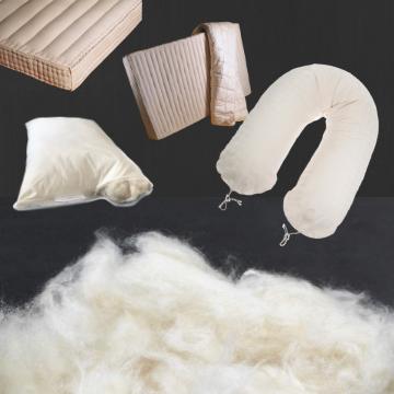 Kapok kapokfaser Füllung stillkissen matratze kissen minky mooh oeko-tex 100 standard