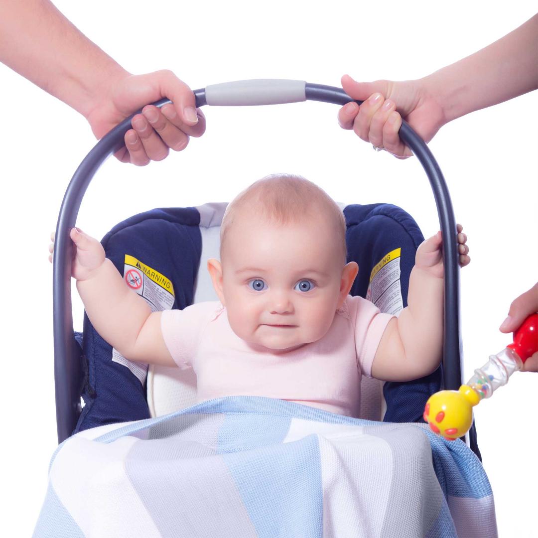 Baby Strickdecke Bio Baumwolle kbA GOTS Kuscheldecke Erstlingsdecke Minky Mooh weich premium 100x70.jpg