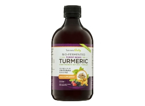 Bio-fermented turmeric supplement