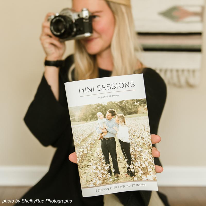Mini Session Photography Marketing Template