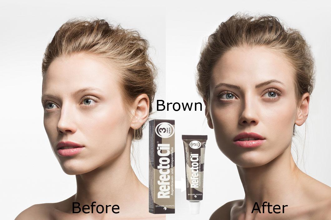 Refectocil eyebrow tint