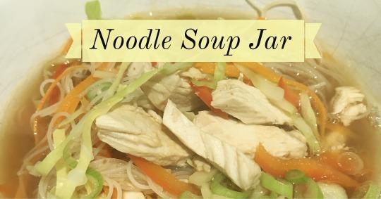 Noodle Soup Jar
