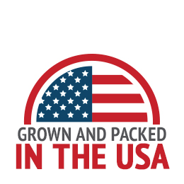 Patriot Pantry foods are grown and packed in the USA