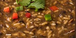 Black Bean & Rice Soup