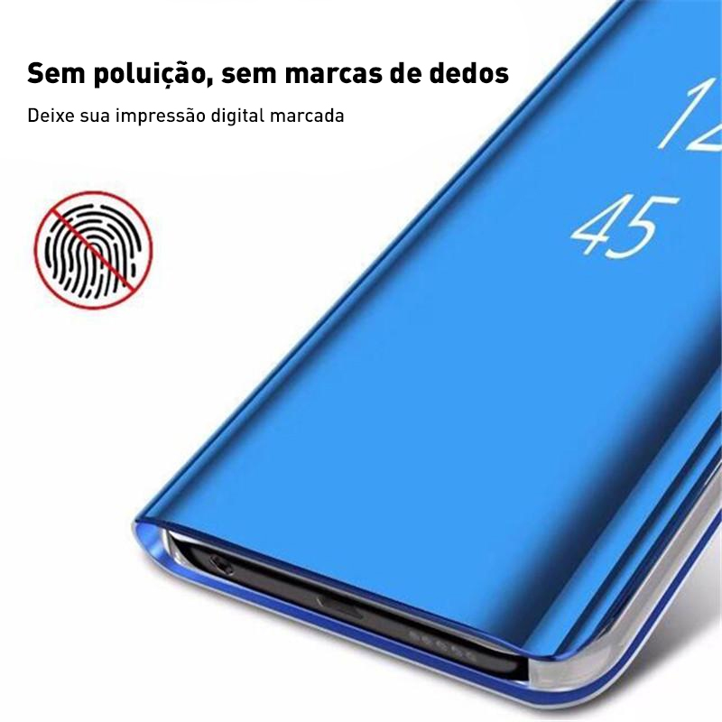 capa transparente capa suporte capa slim capa protetora telefone capa protetora capa espelho flip capa de vidro capa cores capa clear view capa celular