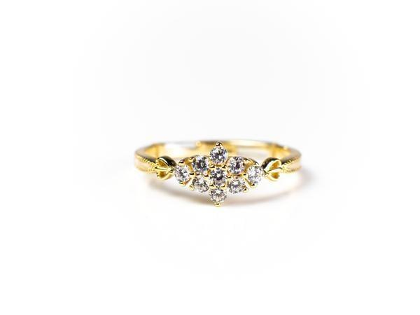 Sarah Snowflake Ring