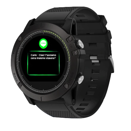 SMART WATCH TATTICO V3 EVO - iOS/ANDROID