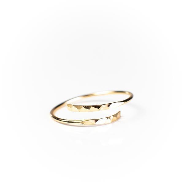 Minimalist Thumb Ring
